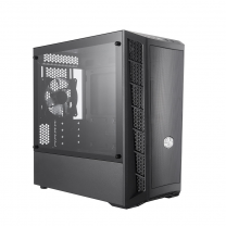 CoolerMaster MasterBox MB311L Mini Tower Tempered Glass Micro-ATX Computer Case - Black