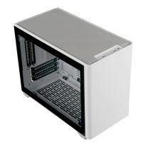 Cooler Master MasterBox NR200P Tempered Glass Mini ITX Case - White