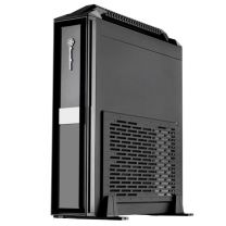 SilverStone Milo ML08 Black Mini ITX Case with Handle