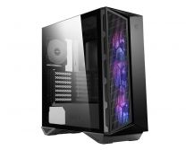 MSI MPG GUNGNIR 110M ATX Tempered Glass (2-Sides Panel) Computer Case - Black