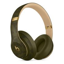 Beats Studio3 Bluetooth Wireless Active Noise Cancelling Headphones - Camo Forest Green