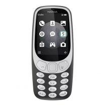 Nokia 3310 (2017, 3G 900/2100, Keypad) - Charcoal