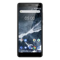 """Nokia 5.1 (5.5"""", 16MP, Android One) - Black"""