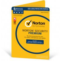 Norton Security Premium  5 Devices 1 Year
