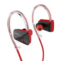 Simplecom NS200 Bluetooth Neckband Sports Headphones - NFC Red