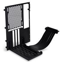 Lian Li O11D-MINI PCIe 3.0 Vertical Bracket Kit-Black