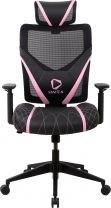 ONEX GE300 Ergonomic Breathable Mesh Office/Gaming Chair - Pink/Black
