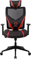 ONEX GE300 Ergonomic Breathable Mesh Office/Gaming Chair - Red/Black
