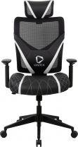 ONEX GE300 Ergonomic Breathable Mesh Office/Gaming Chair - White/Black