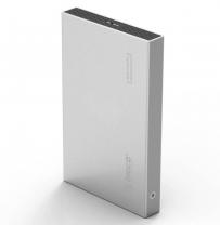 "Orico 2518S3 Aluminium 2.5"" Hard Drive Enclosure - Silver"