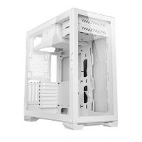 Antec P120 Crystal Tempered Glass Side Panel ATX Computer Case - White