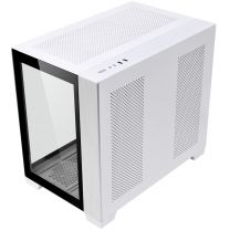 Lian Li PC-O11 Dynamic Mini ATX Tempered Glass Computer Case - White