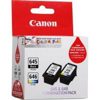 Canon PG-645 CL-646 Twin Pack Ink Cartridge