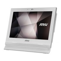 "MSI Pro 16T All-In-One 15.6"" Single-Touch Desktop PC, 5205U, 4GB, 256GB SSD - White"