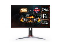 """AOC Q27G2S 28"""" 2K IPS 170Hz 1ms G-Sync Compatible HDR 400 Height Adjustable Monitor"""