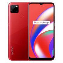 """realme C12 Dual Sim 4G, 6.5"""", 32GB, 3GB, 6000 mAh Phone - Coral Red"""