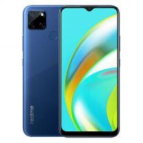 """realme C12 Dual Sim 4G, 6.5"""", 32GB, 3GB, 6000 mAh Phone - Marine Blue"""