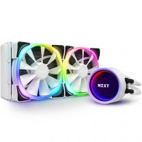 NZXT Kraken X53 RGB 240mm All-in-One (AIO) Liquid Cooler - Matte White
