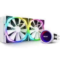 NZXT Kraken X63 RGB 280mm All-in-One (AIO) Liquid Cooler - Matte White