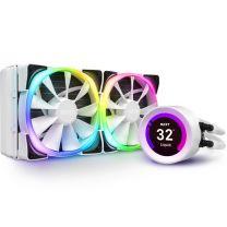 NZXT Kraken Z53 RGB 240mm AIO Liquid Cooler - Matte White