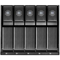 """Silverstone 3x5.25"""" Bay to 5x3.5"""" SAS/SATA HDD Chassis Converter"""