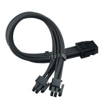 Silverstone PP07E 8-Pin 4+4 EPS Connector Cable - Black
