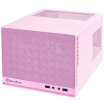 Silverstone Sugo Series SG13P Mini-ITX Case - Pink