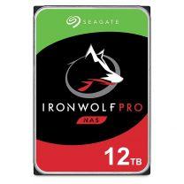"Seagate ST12000NE0008 12TB IronWolf Pro 3.5"" SATA3 NAS Hard Drive"