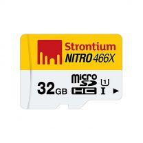 Strontium Nitro 32GB Micro SDHC Card 70MB/s UHS-I U1 Class 10 High Speed SRN32GTTFU1R
