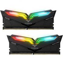 Team Night Hawk RGB 16GB(2x8) DDR4-3600 RAM - Black