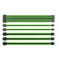 Thermaltake TTMOD Sleeve Modular Cable Set Green/Black