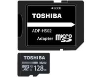 Toshiba EXCERIA UHS-1 Micro SD With Adapter - 128GB