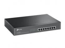 8-Port Gigabit Desktop/Rackmount Switch with 8-Port PoE+