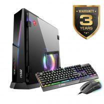 MSI MPG Trident AS Gaming Desktop PC,  Intel Core i7-10700F, 16GB RAM, 1TB SSD, RTX 3070, Windows 10 Home
