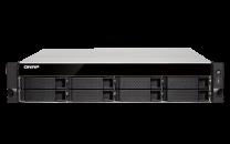 QNAP 8-Bay Diskless Rackmount NAS Quad-Core 1.7GHz 4GB