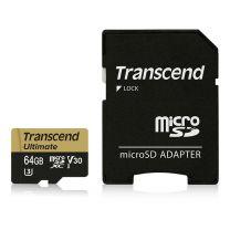 Transcend Ultimate 64GB MicroSD MLC for Dashcam