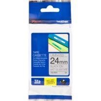 Brother TZE-M951Laminated Matt TZE Tape 24mm Black on Silver