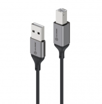 Alogic Ultra 5m USB 2.0 USB-A (Male) to USB-B (Male) Cable
