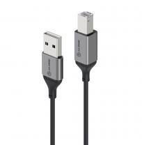 Alogic Ultra 5m USB 2.0 USB-A (Male) to USB-B (Male) Cable