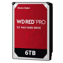 "WD Red Pro 6TB 3.5"" SATA NAS HDD"