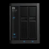WD My Cloud PR2100 Pro Series 2-bay 16TB NAS - Black