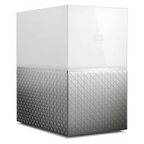 WD My Cloud Home Duo 16TB NAS - White Silver