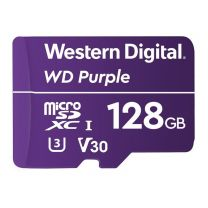 WD Purple 128GB microSDXC U3 V30 Memory Card