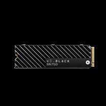 WD Black SN750 NVMe 1TB M.2 SSD - With Heatsink