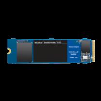 WD 250GB SN550 M.2 NVME SSD - Blue