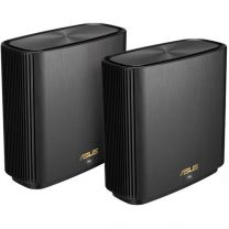 Asus ZenWiFi XT8 AX6600 Wireless Mesh Router WiFi System (2-Pack) - Black