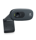 Logitech C270 HD Webcam 720P with Build In MIC USB Plug n Play