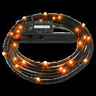NZXT Sleeve LED Cable 1M Orange
