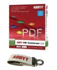 ABBYY PDF Transformer+ OCR Business Card & Screenshot Reader Software Bundle (8GB USB)