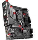 MSI Mortar Intel B365 LGA 1151 Micro-ATX Motherboard